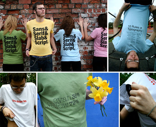 Typographic T-Shirts