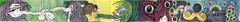 tapper000 (michaelnightmare) Tags: moleskine halloween collage ink watercolor cowboy gun eyeball cowgirl mustache colab molyx nightmarephotography molyexchange barhandlemustache