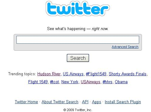US Airways trending on Twitter