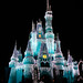 Dream Lights, Cinderella's Castle, Magic Kingdom - Walt Disney World