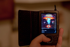 Day 66 (432) - What's On My Zune (Nick, Programmerman) Tags: playing boston hand whats 5014 zune 365days 1dii
