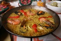 Mi Madre (Paul Matthews in Korea) Tags: food restaurant spain rice korea spanish seoul seafood paella itaewon      mimadre noksapyeong