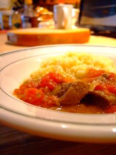 warm spiced lamb stew