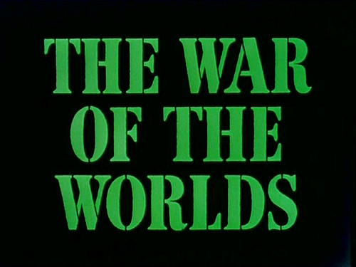 the war of the worlds 1953. The War Of The Worlds (1953)