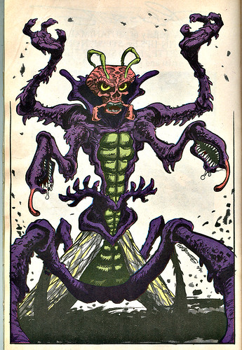 Mighty Mutanimals : INVASION FROM SPACE - Pin-up Gallery :: Maligna..// ..  art by S.R. Bissette (( 1991 ))
