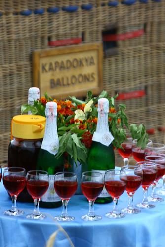 Champaign & Cherry juice