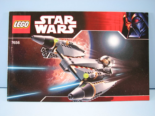 Lego General Grievous Starfighter Instruction Booklet A Photo On