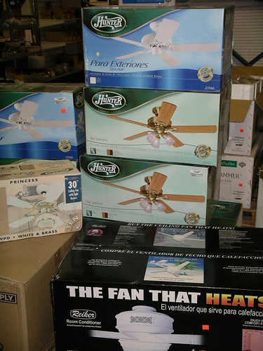 Ceiling Fans $55 up to $100