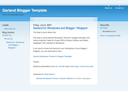 40 Free Beautiful Blogger Templates, Part III ব্লগার ভাইদের জন্য ২০ টি চমৎকার professional theme