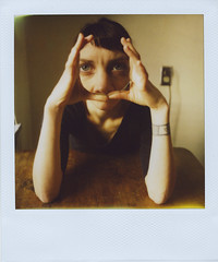 Heres Looking at You (Jamie Larson) Tags: polaroid howdoesitfeel type779