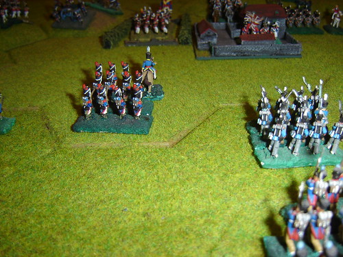 The attack on le Haye Sainte is blunted