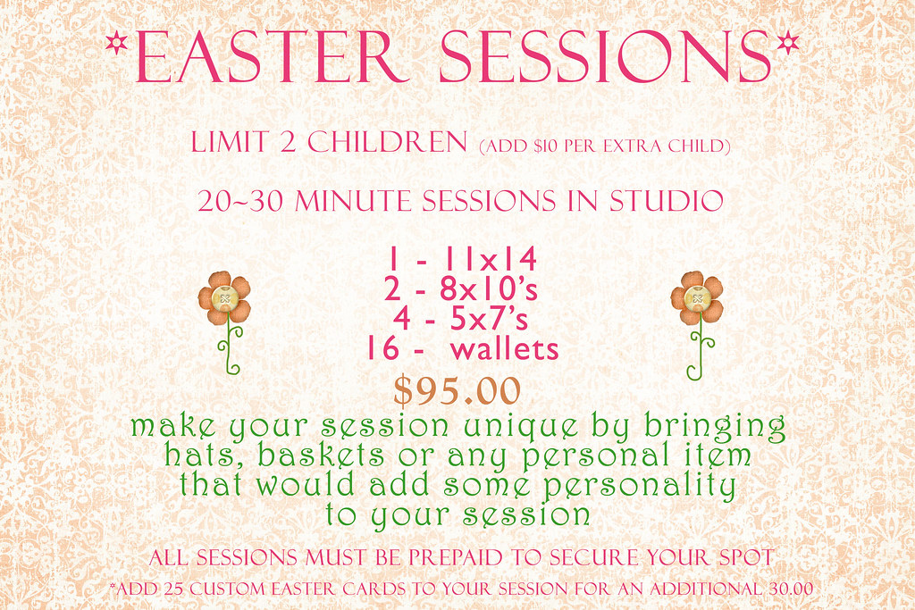 easter sessions