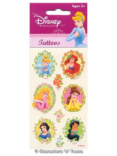 Spiderman Tattoos · Batman Tattoos · Disney Princess Tattoos