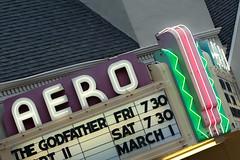 aero theater marquee