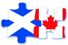 Scotland Canada Jigsaw - Cultural Connects Logo