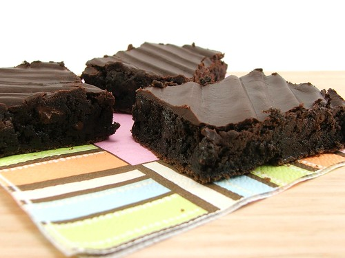 Dark Chocolate Chip Brownies