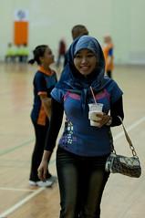 Kejohanan Bola Jaring Brunei 3 ( Netball) (Zulkhairi Zainal) Tags: girls dof bokeh balls throwing netball 70200mm d300 berakas uneditted multipurposehall 70200vr brunei3