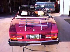 italy classic car spider italian automobile 2000 fiat 124 1979 sportscar ragtop pininfarina convertable twincam dohc 1995cc transverselink aureliolampredi doubleoverheadcam 4wheeldiscbrakes rubbertimingbelts panhardrod