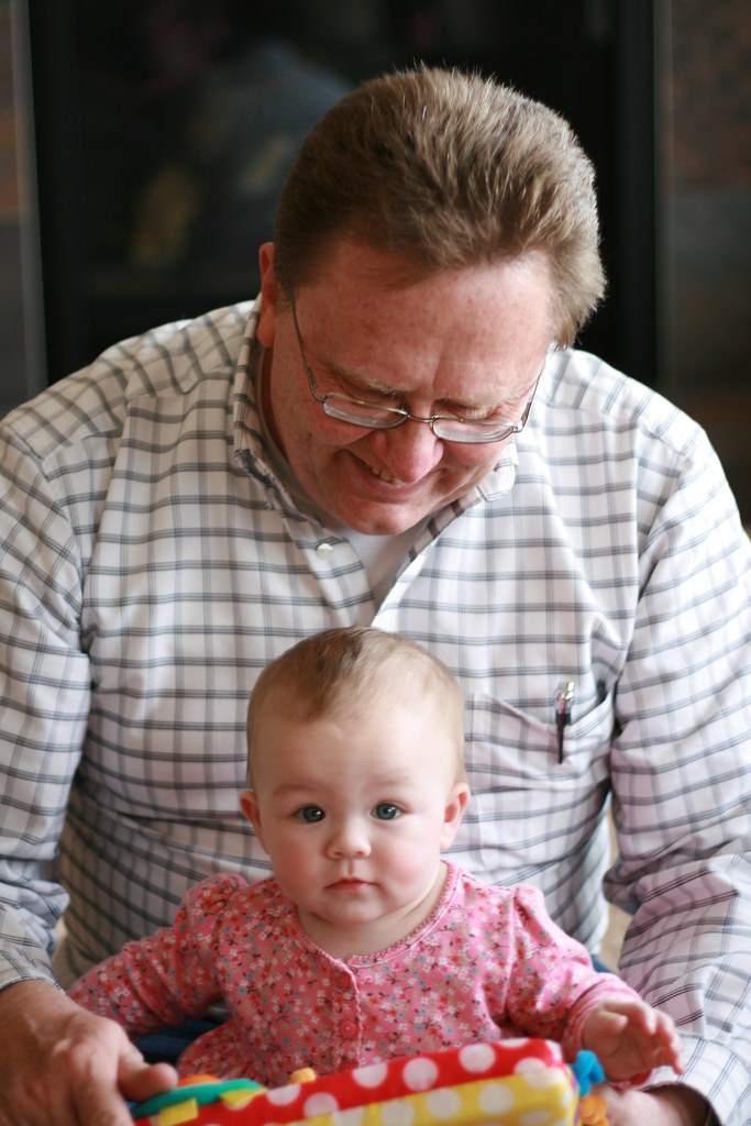 Grandpa Jake and Emma