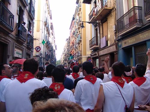 Fiestas de toros en Pamplona
