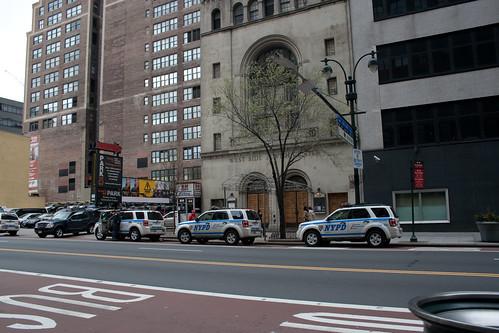 Lots of NYC Cops