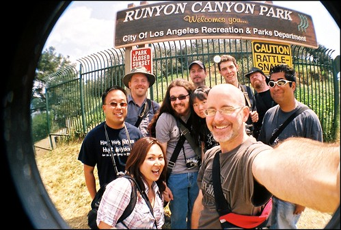 Runyon Canyon Group Shot #1