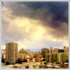 The End Of The Storm  (~ Seba ~) Tags: chile santiago light sky storm clouds spider soe seba sebastin imagepoetry artedechile 35faves artechileno visiongroup infinestyle platinumheartaward goldstaraward lesamisdupetitprince artofimages bestcaptureaoi fotografachilena fotgrafoschilenos