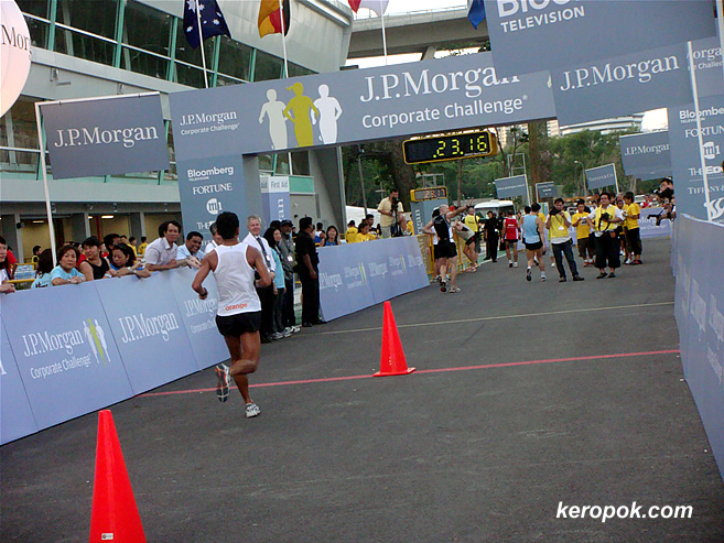 J.P. Morgan Corporate Challenge - The end