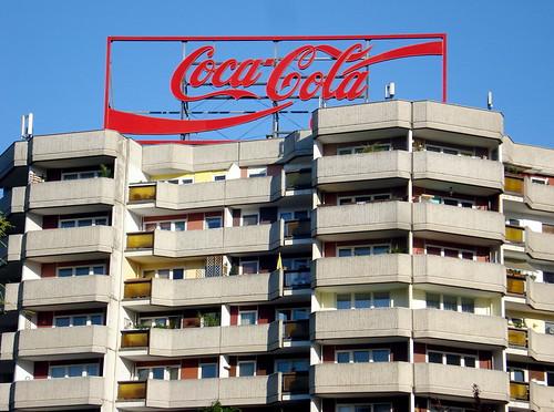 Leipziger Strasse Coca Cola