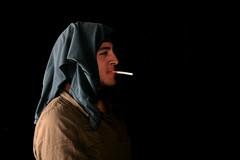 Sigaretta (Macgorilla) Tags: sigaretta profilo asciugamano