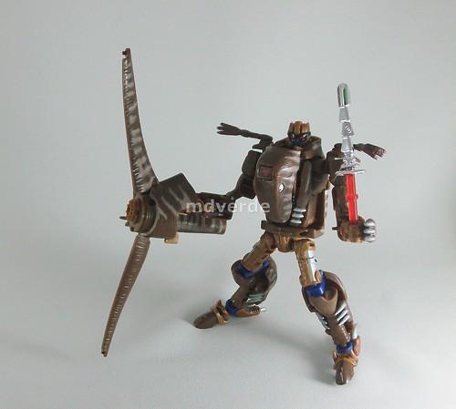 Transformers Dinobot Classic Henkei - modo robot