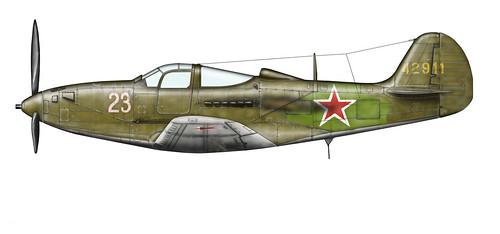 Warbird picture - P-39_Summer_1944