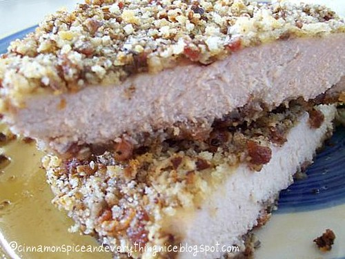 Bacon & Pecan Crusted Chicken
