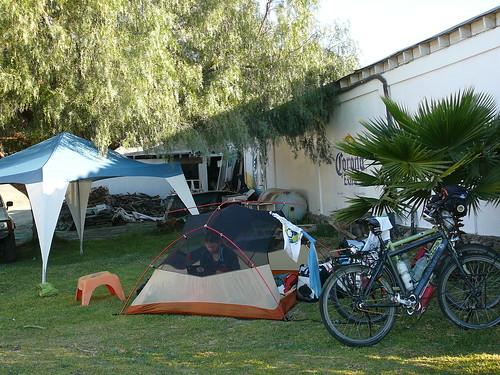 Camping de lujo en cespeden Rosarito