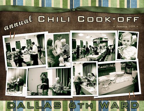 Chili Cook-off (D6 Ward) - Jan 09