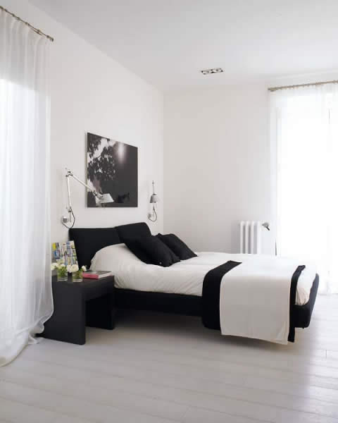 6 Classic Bedroom Interior Design with Black and White Tone