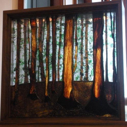 Sacred Grove Stained Glass