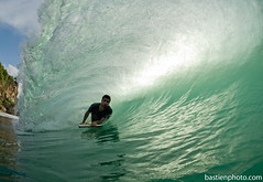 Padang (bastienphoto.com) Tags: bali indonesia surf tube barrel vague bodyboard padangpadang aquashot