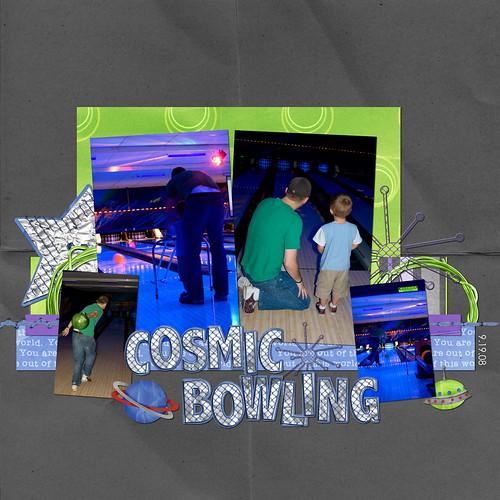 E- Cosmic Bowling