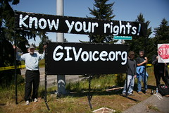 Coffee Strong - G.I. Voice - Know Your Rights / Stop Stoploss Rally
