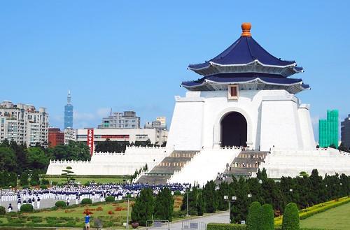 chung kai shek memorial hall, taipei