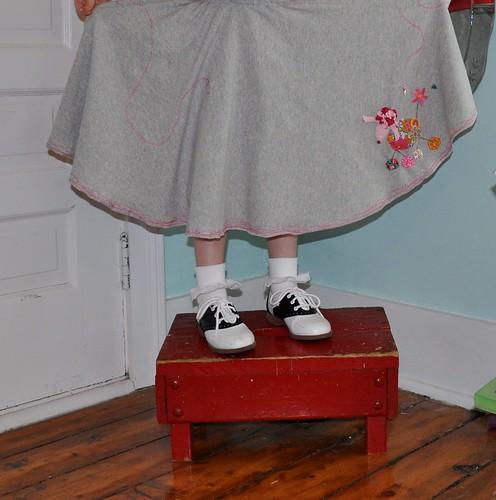 fluffy poodle skirt