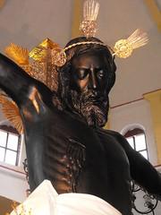 Cristo Negro Seor de San Romn (arosadocel) Tags: san christ negro cristo christi jess campeche seor crucifijo jesucristo romn crucificado
