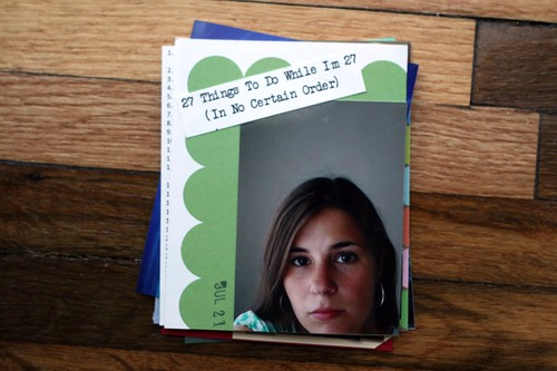 27 Things minibook: the start