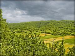 Paysage .......en pays Lotois (lo46) Tags: sky france clouds rural landscape champs lot vert ciel nuages paysage valle quercy midipyrnes francelandscapes concores departementdulot stgermaindubelair
