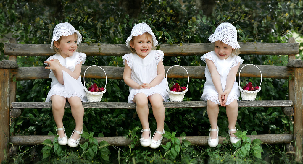 Flower Girl Triptych
