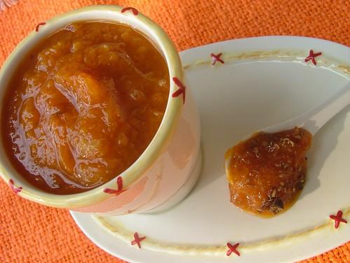 marmellata di albicocche e arancia con anice e ginepro1