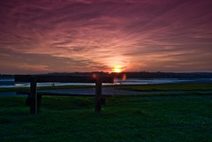 Loughor-Sunset-1 (andyathlon) Tags: sunset swansea colours sony kit filters a200 foreshore graduated cokin loughor