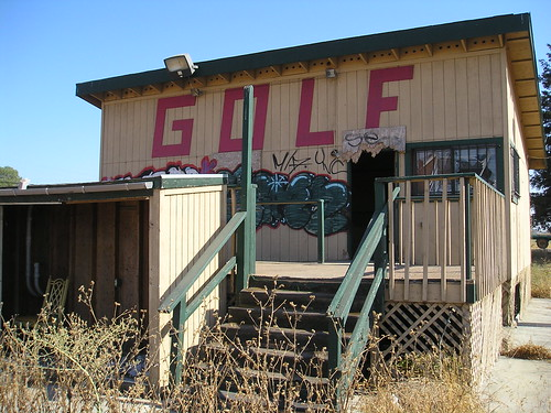Abandoned driving range