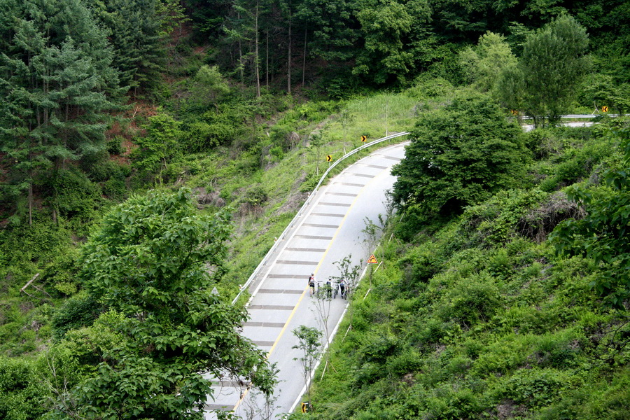 Bikers in mountains(4)